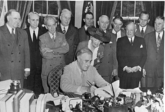 FDR Signs the GI Bill